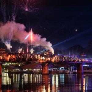 Kanchanaburi – River Kwai Bridge Lights and Sounds Festival